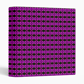Purple Dreams 3 Ring Binder