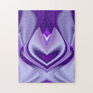 Purple Dreams , Abstract Fantasy Rainbow-Art Jigsaw Puzzle