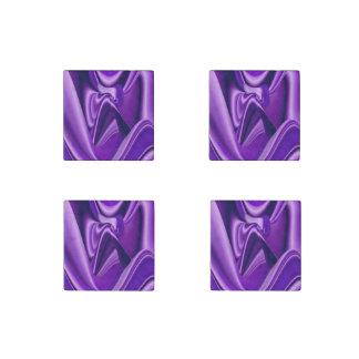 Purple Dreams , Abstract Fantasy Rainbow-Art Stone Magnet