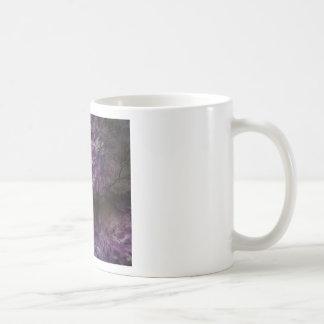 Purple dreams classic white coffee mug