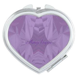 Purple Dreams Combo Design w Monogram Mirror For Makeup