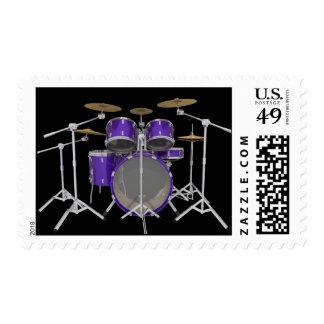 Purple Drum Kit: Postage