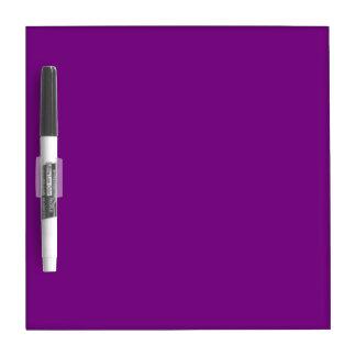 Purple Dry Erase Board