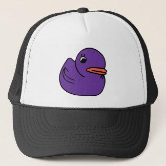 Purple Ducky Trucker Hat