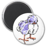 Purple Easter Chick Magnet