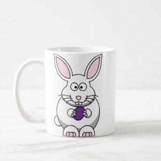 Purple Easter Egg Bunny Mug