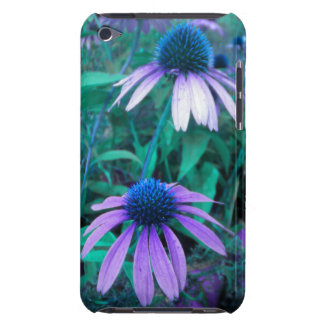 Purple Echinacea iPod touch case