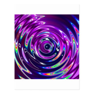 Purple Ecstacy Postcard