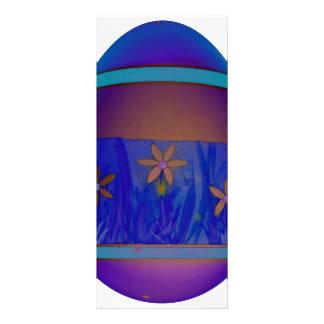 Purple Egg Rack Card