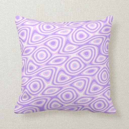 Purple Eggs Pillows