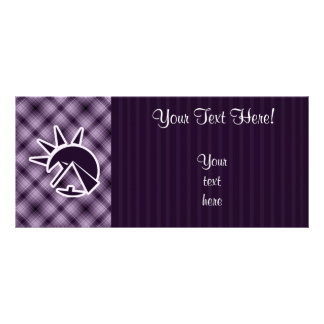 Purple Egyptian Pyramid Rack Card