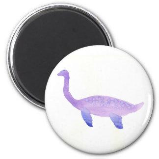 Purple Elasmosaurus Magnet