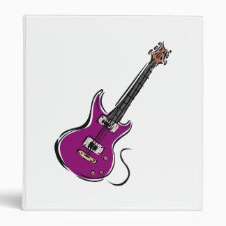 purple electric guitar music graphic.png 3 ring binder