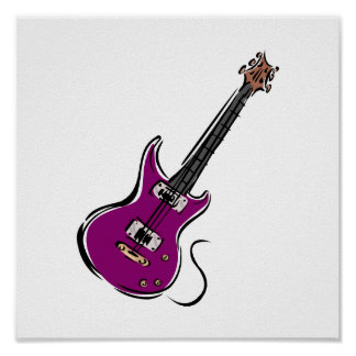 purple electric guitar music graphic.png poster