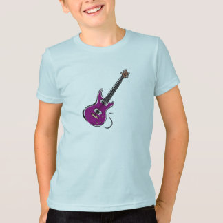 purple electric guitar music graphic.png T-Shirt