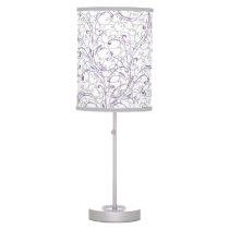 purple elegance lamp