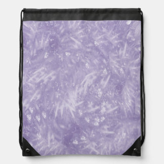 Purple Elegant Drawstring Bags