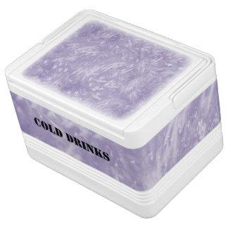 Purple Elegant Igloo Drink Cooler