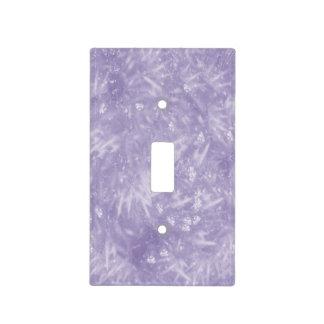 Purple Elegant Light Switch Plate
