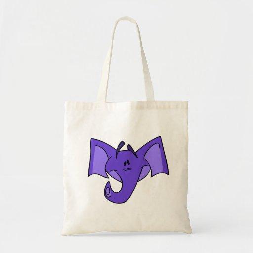 Purple Elephant Bag