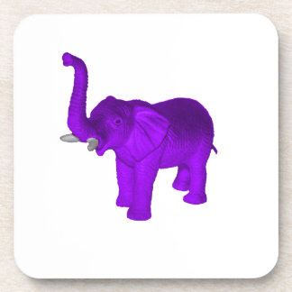 Purple Elephant Drink Coaster