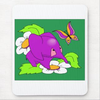 Purple Elephant Mousepad