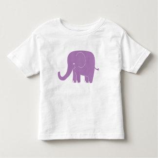 Purple Elephant Toddler Shirt