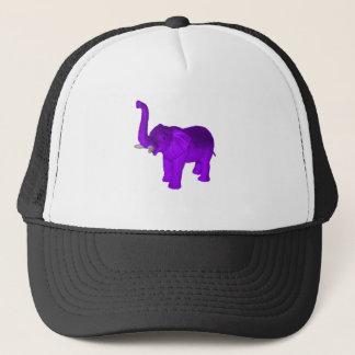 Purple Elephant Trucker Hat