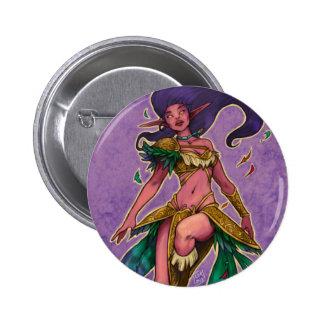 Purple Elf 2 Inch Round Button