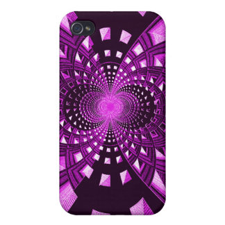Purple Embrace_ Case For iPhone 4
