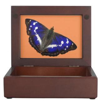 Purple Emperor Butterfly Keepsake Box