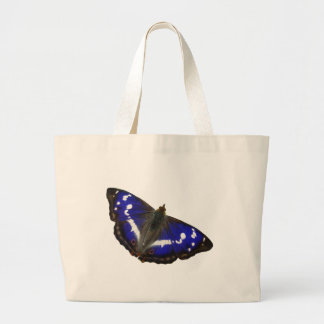 Purple Emperor Butterfly Large Tote Bag