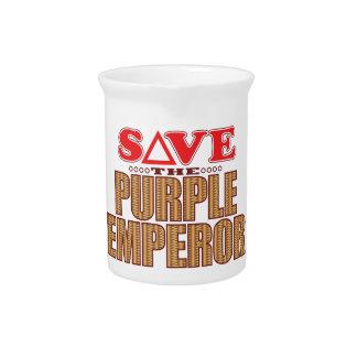 Purple Emperor Save Beverage Pitcher
