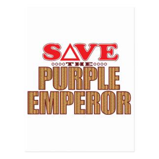 Purple Emperor Save Postcard