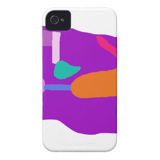 Purple Entity iPhone 4 Cover