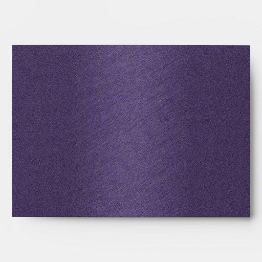 purple envelope a7 greeting card zazzle