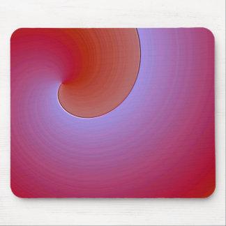 purple eosin glaze mouse pad