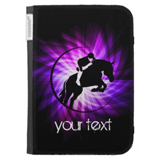 Purple Equestrian Cases For The Kindle
