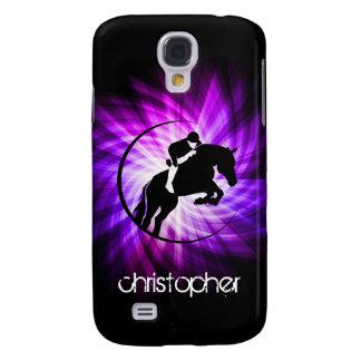 Purple Equestrian Galaxy S4 Cover