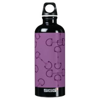 Purple Equestrian Horse Bits SIGG Traveler 0.6L Water Bottle