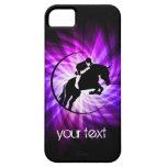 Purple Equestrian iPhone 5 Cases