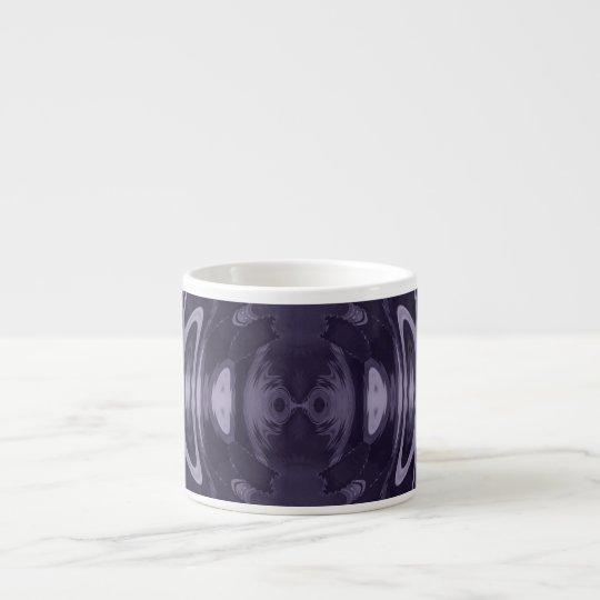 Purple espresso mug