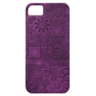 Purple ethic texture iPhone SE/5/5s case
