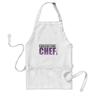 Purple Executive Chef Adult Apron