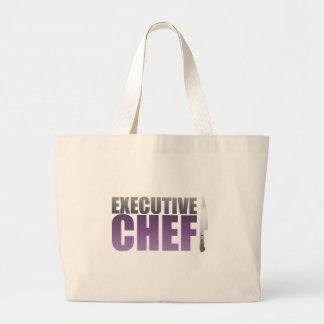 Purple Executive Chef Canvas Bag