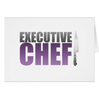 Purple Executive Chef Card