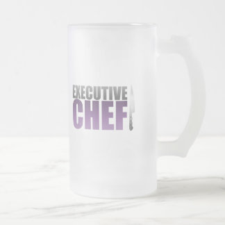 Purple Executive Chef Coffee Mug