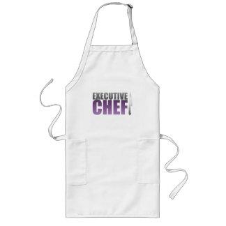 Purple Executive Chef Long Apron
