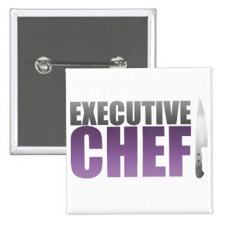 Purple Executive Chef Pin