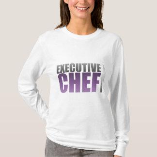 Purple Executive Chef T-Shirt